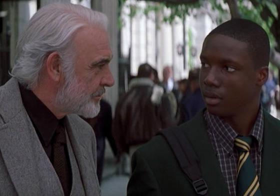 Finding Forrester with Sean Connery
