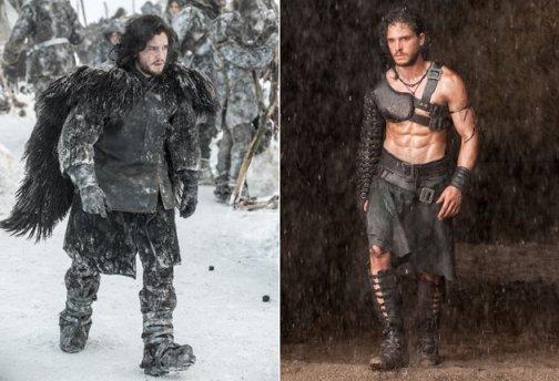 Jon Snow in Pompeii