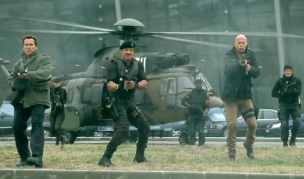 Arnold-Schwarzenegger-Sylvester-Stallone-and-Bruce-Willis-in-The-Expendables-2-2012-Movie-Image1-e1344217991926