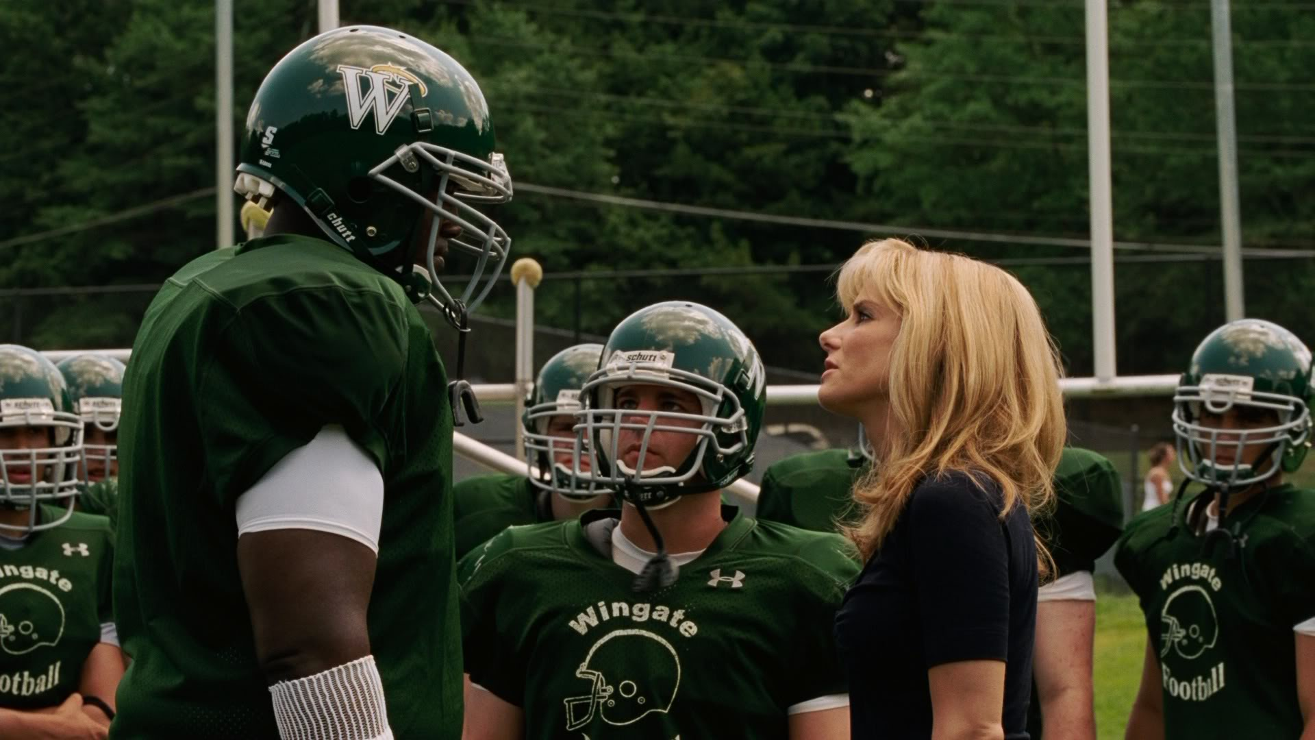 themes in the movie the blind side The themes of this film are: family family is a big theme to this film often times, the protagonist shows the affection and love to the family and this is a story of a changing person through the love of a family.
