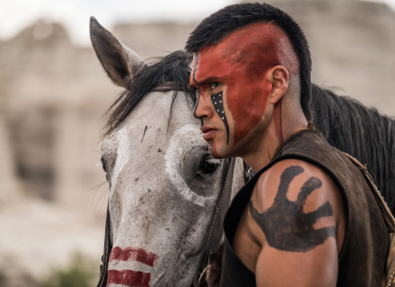 Martin Sensmeier stars in Metro-Goldwyn-Mayer Pictures and Columbia Pictures' THE MAGNIFICENT SEVEN.