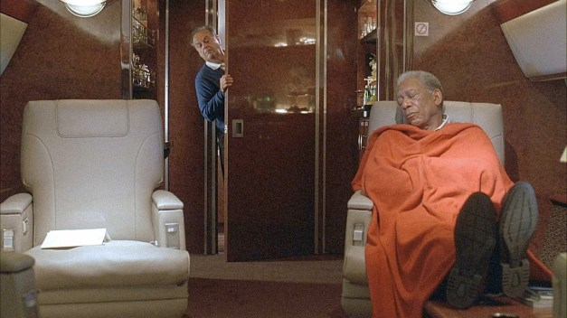 JACK NICHOLSON stars as Edward and MORGAN FREEMAN stars as Carter in Warner Bros. Pictures˜ comedy drama ÀThe Bucket List.‰ PHOTOGRAPHS TO BE USED SOLELY FOR ADVERTISING, PROMOTION, PUBLICITY OR REVIEWS OF THIS SPECIFIC MOTION PICTURE AND TO REMAIN THE PROPERTY OF THE STUDIO. NOT FOR SALE OR REDISTRIBUTION.